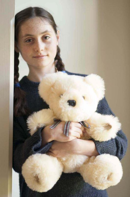 Very special Sheepskin Bears. Baby safe sheepskin, hand made.