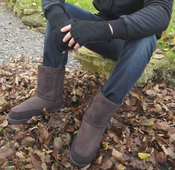 Sheepland outdoor classic boots, winter forest walk