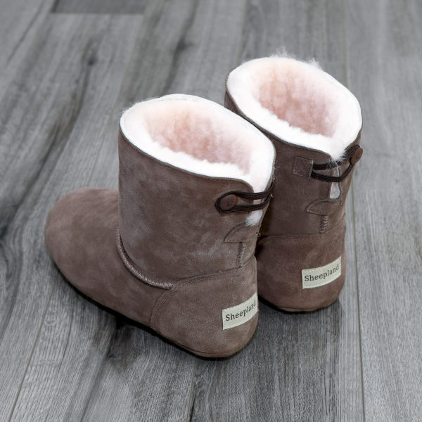 Deep furry sheepskin to wrap your feet in luxury. Our Slippers are probably the best!