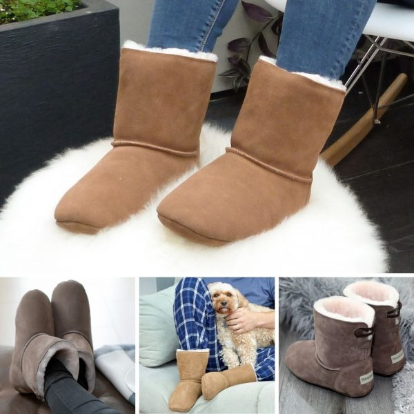 The slipper boot,Natural Sheepskin, fantastic for feet! Sheepskin slippers are a natural addition to your wardrobe.