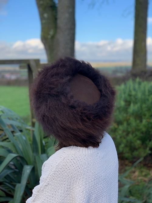 British Cossack Hat made from British Undyed Organic Sheepskin