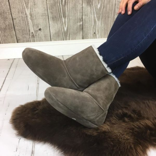 Special slippers, Sheepskin doing its job to keep the country warm. Sheepskin slippers from Sheepland