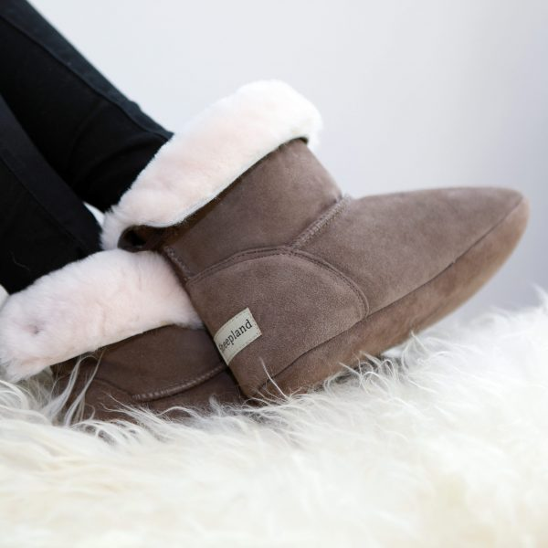 All weather warm slippers. Perfect for winter and summer. Sheepland slippers, natural sheepskin
