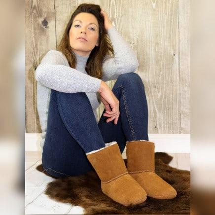 Luxury Sheepskin slippers from Sheepland