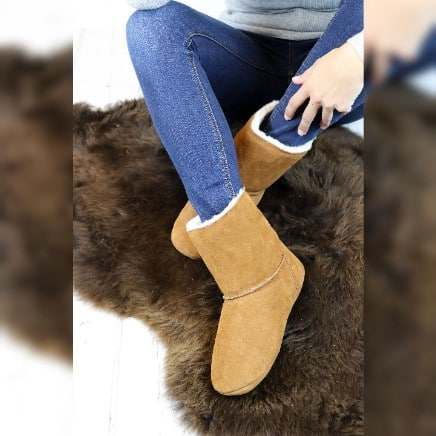Sheepland slipper boots, the home of luxury