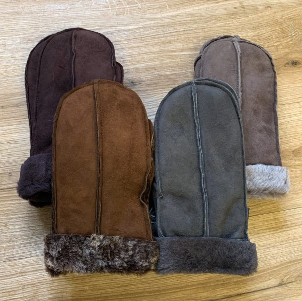 British Sheepskin Mittens