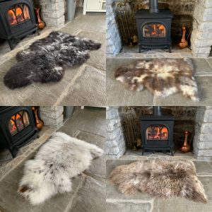 Undyed Rare Breed Sheepskin Rugs