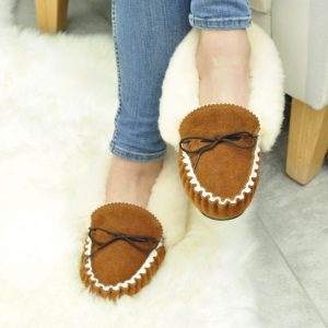 Pure Sheepskin, made for your feet, these amazing soft slippers. Hand made in our workshop, in Somerset England