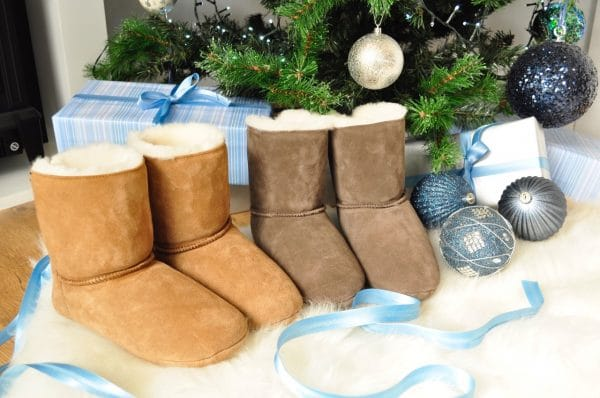 Sheepland Slipper Boot Christmas Gift for her and for him