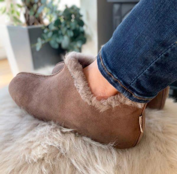 Snug Sheepskin Slippers made by Sheepland